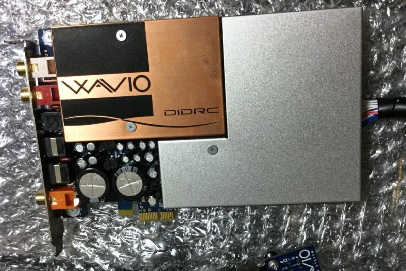 【悲報】ONKYOのサウンドカードを組み込むもデフォルトでは音の違いがわからず